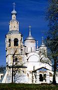 Спасо-Прилуцкий мужской монастырь. Собор Спаса Преображения - Прилуки - Вологда, город - Вологодская область