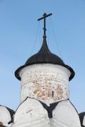 Спасо-Прилуцкий мужской монастырь. Надвратная церковь Вознесения Господня - Прилуки - Вологда, город - Вологодская область