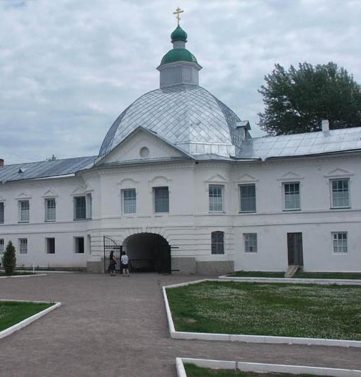 Александро-Свирский монастырь. Церковь Николая Чудотворца, Старая Слобода