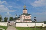 Иверский монастырь. Трапезная церковь Богоявления Господня - Валдай - Валдайский район - Новгородская область