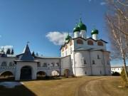 Вяжищи. Николо-Вяжищский ставропигиальный женский монастырь. Соборная церковь Николая Чудотворца и Евфимия Вяжищского