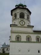 Вяжищи. Николо-Вяжищский ставропигиальный женский монастырь. Церковь Иоанна Богослова с трапезной церковью Вознесения Господня