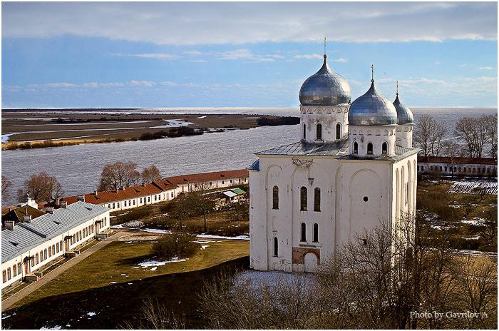Юрьев мужской монастырь. Собор Георгия Победоносца, Юрьево