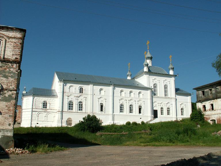 Тихвинский Керенский (мужской) монастырь. Церковь Тихвинской иконы Божией Матери, Вадинск