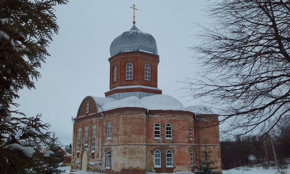 Тихвинский Керенский (мужской) монастырь. Церковь Николая Чудотворца, Вадинск