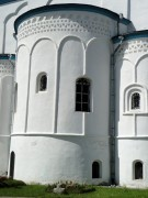 Спасо-Елеазаровский женский монастырь. Собор Трех Святителей - Елизарово - Псковский район - Псковская область
