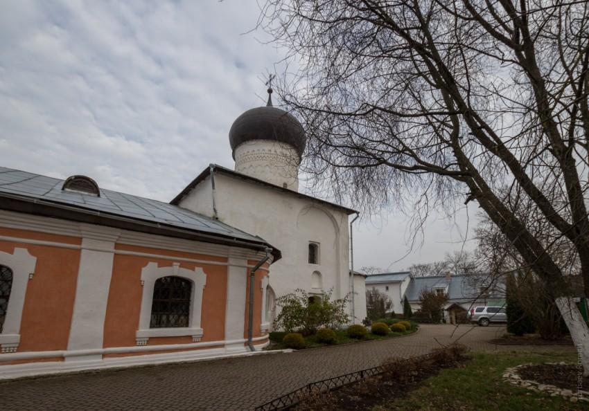 Снетогорский женский монастырь. Собор Рождества Пресвятой Богородицы, Псков