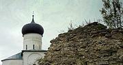 Снетогорский женский монастырь. Церковь Вознесения Господня - Псков - Псков, город - Псковская область