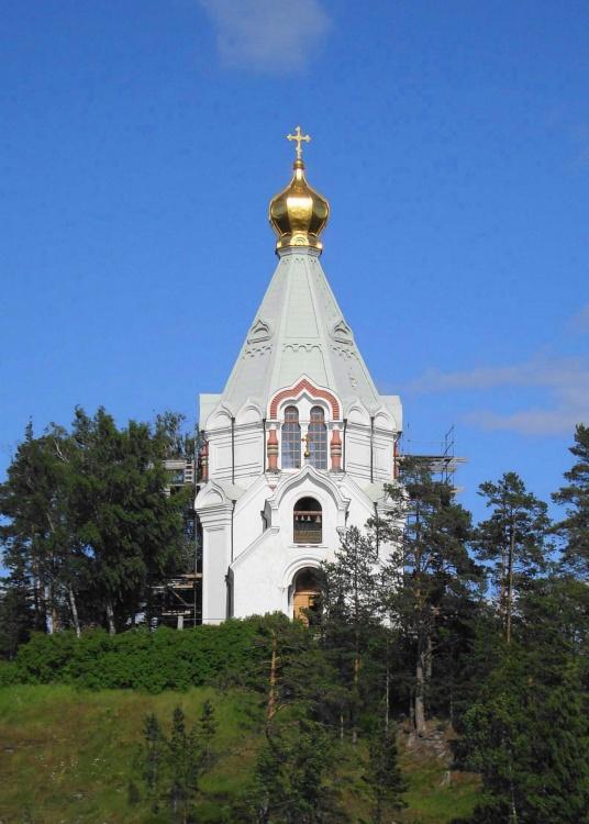 Спасо-Преображенский Валаамский монастырь. Никольский скит. Церковь Николая Чудотворца, Валаамские острова