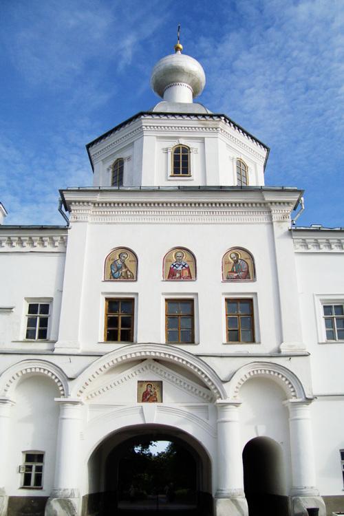Спасо-Преображенский Валаамский монастырь. Главная усадьба. Церковь Петра и Павла, Валаамские острова