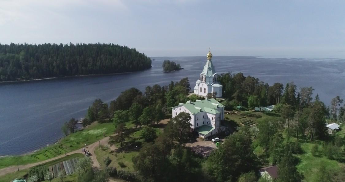 Спасо-Преображенский Валаамский монастырь. Никольский скит, Валаамские острова