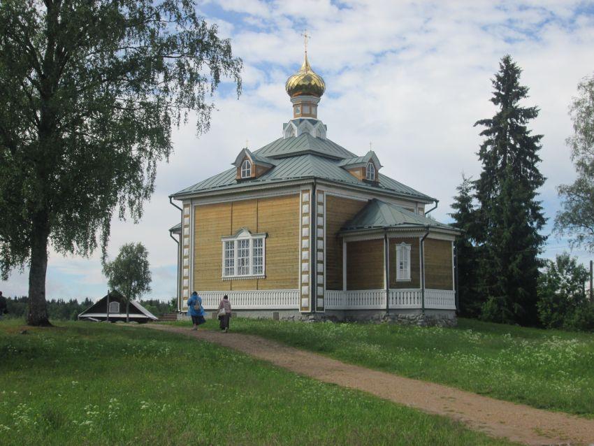 Тверская область, Осташковский городской округ, Волговерховье. Ольгинский монастырь, фотография. фасады