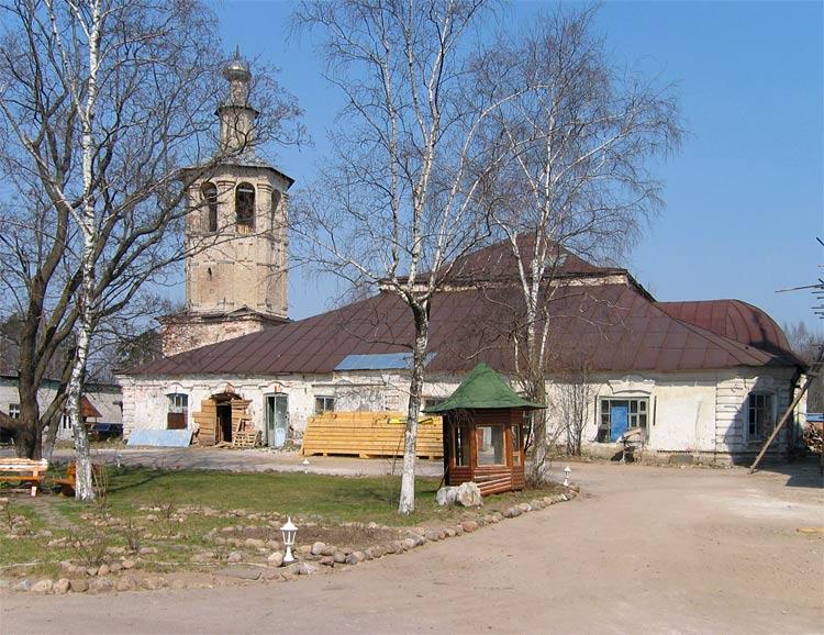 Житенный Смоленский монастырь. Собор Смоленской иконы Божией Матери, Осташков