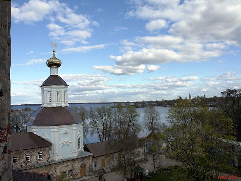 Житенный Смоленский монастырь. Церковь Иоанна Богослова и Андрея Первозванного, Осташков