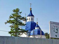 Иоанно-Введенский Междугорский монастырь. Церковь Иоанна Предтечи - Прииртышский - Тобольский район и г. Тобольск - Тюменская область