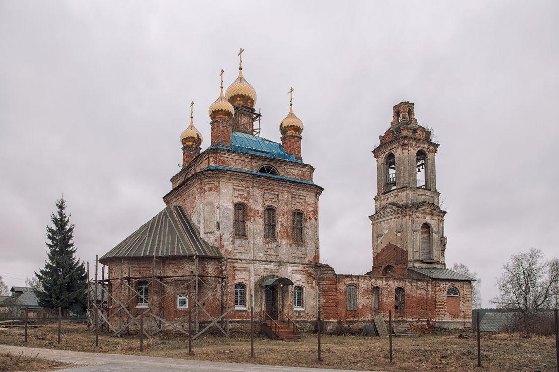 Церковь Воскресения Христова, Яковцево
