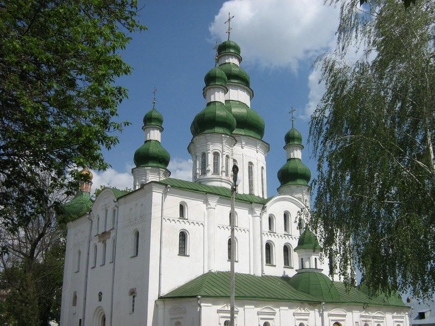 Успенский Елецкий женский монастырь. Собор Успения Пресвятой Богородицы, Чернигов