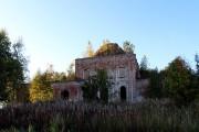 Церковь Происхождения честных древ Креста Господня - Спасское - Сямженский район - Вологодская область