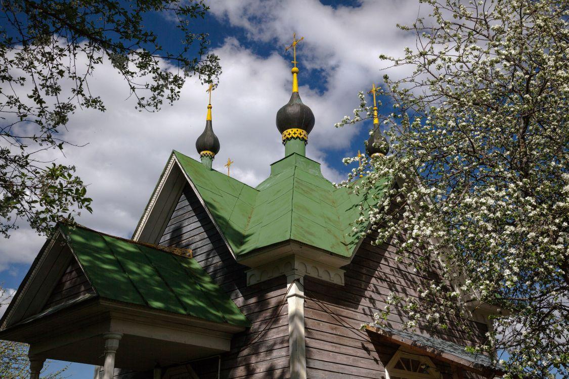 Горицкий Успенский монастырь. Неизвестная часовня из деревни Старово, Переславль-Залесский