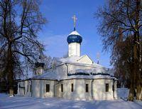 Переславль-Залесский. Феодоровский монастырь. Церковь Введения во храм Пресвятой Богородицы