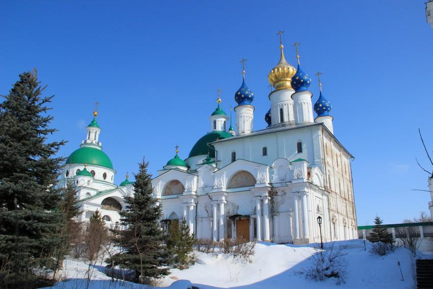 Спасо-Яковлевский Дмитриев мужской монастырь. Собор Зачатия Анны, Ростов