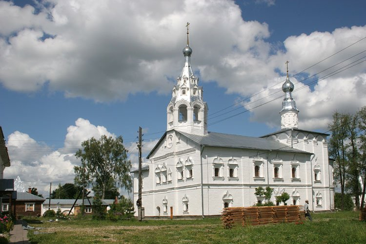Николо-Улейминский монастырь. Церковь Введения во храм Пресвятой Богородицы, Улейма