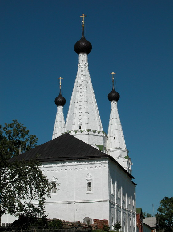 Алексеевский женский монастырь. Церковь Успения Пресвятой Богородицы, Углич