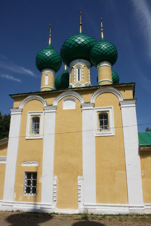 Алексеевский женский монастырь. Церковь Усекновения главы Иоанна Предтечи, Углич