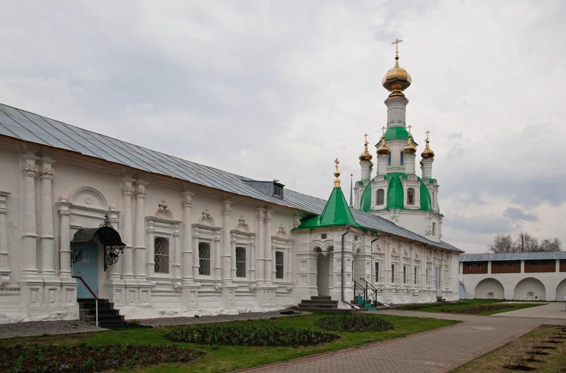 Введенский Толгский женский монастырь. Церковь Спаса Нерукотворного Образа, Толга