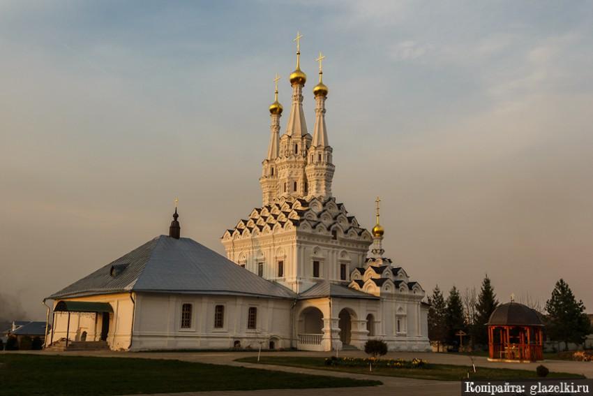 Смоленская область, Вяземский район, Вязьма. Монастырь Иоанна Предтечи. Церковь иконы Божией Матери