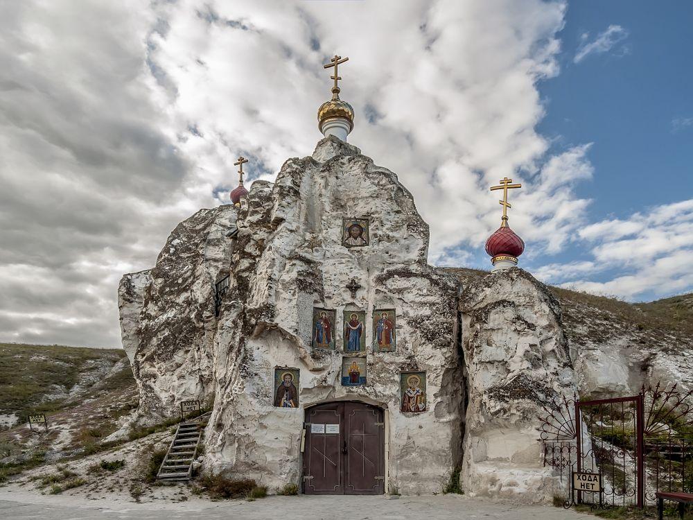 Костомаровский Спасский монастырь. Собор Спаса Нерукотворного Образа, Костомарово