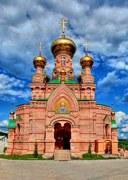 Киев. Покровская Голосеевская пустынь. Церковь иконы Божией Матери