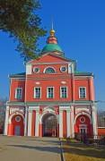 Хотьково. Покровский Хотьков монастырь. Надвратная церковь Рождества Иоанна Предтечи