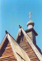 Музей деревянного зодчества. Церковь Спаса Преображения из с. Спас-Вежи - Кострома - Кострома, город - Костромская область