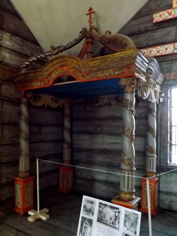 Музей деревянного зодчества. Церковь Илии Пророка, Кострома
