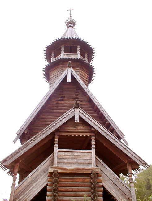 Музей деревянного зодчества. Церковь Спаса Всемилостивого из с. Фоминское, Кострома