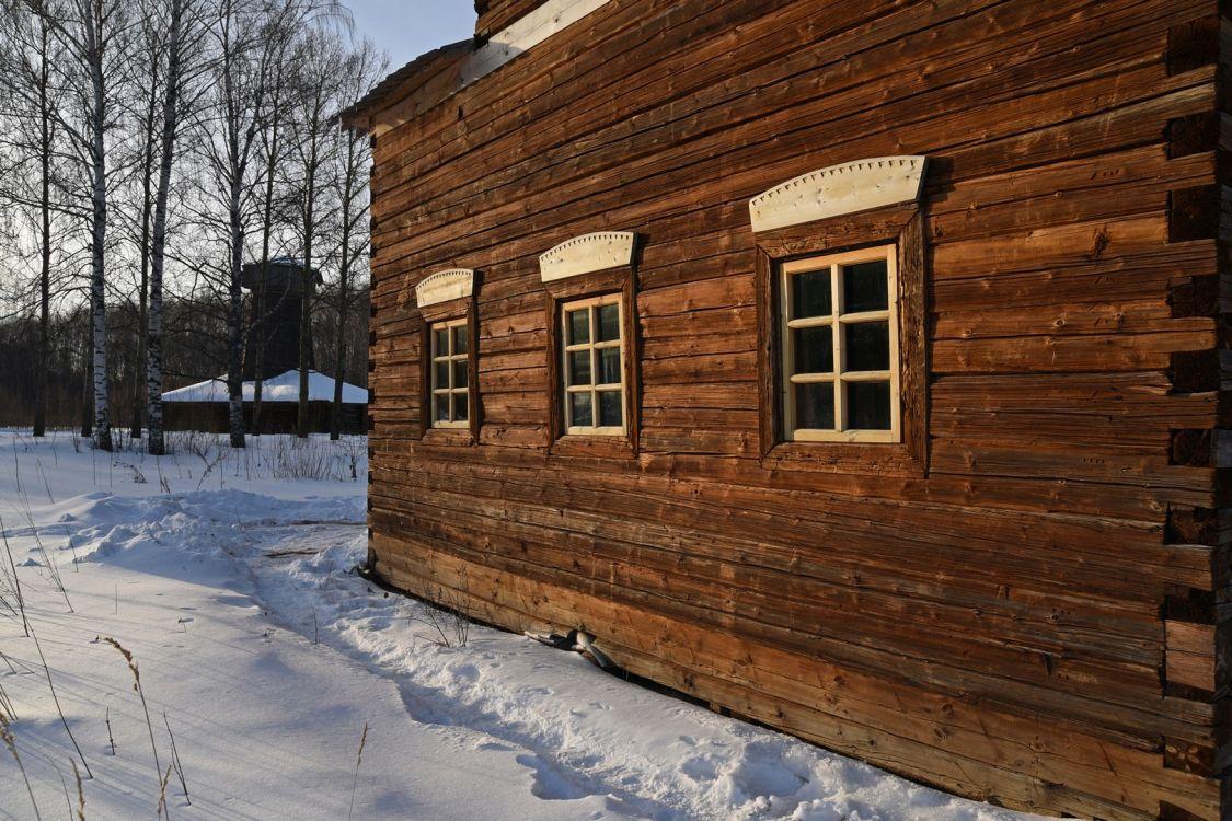 Музей деревянного зодчества. Неизвестная часовня из д. Притыкино, Кострома