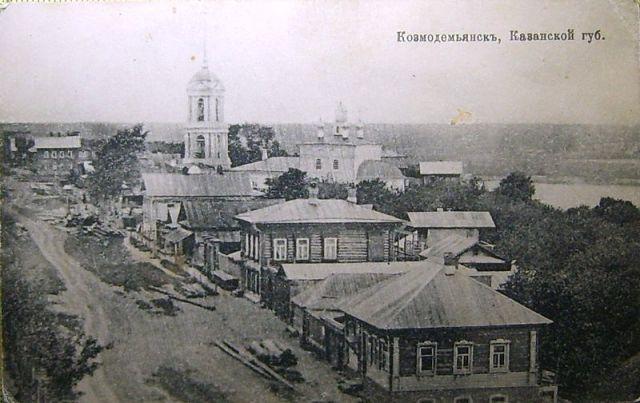 Церковь Троицы Живоначальной, Козьмодемьянск