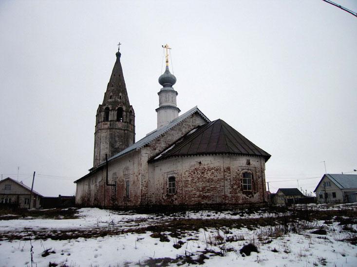 Владимирская область, Суздальский район, Суздаль. Церковь Космы и Дамиана, фотография. фасады