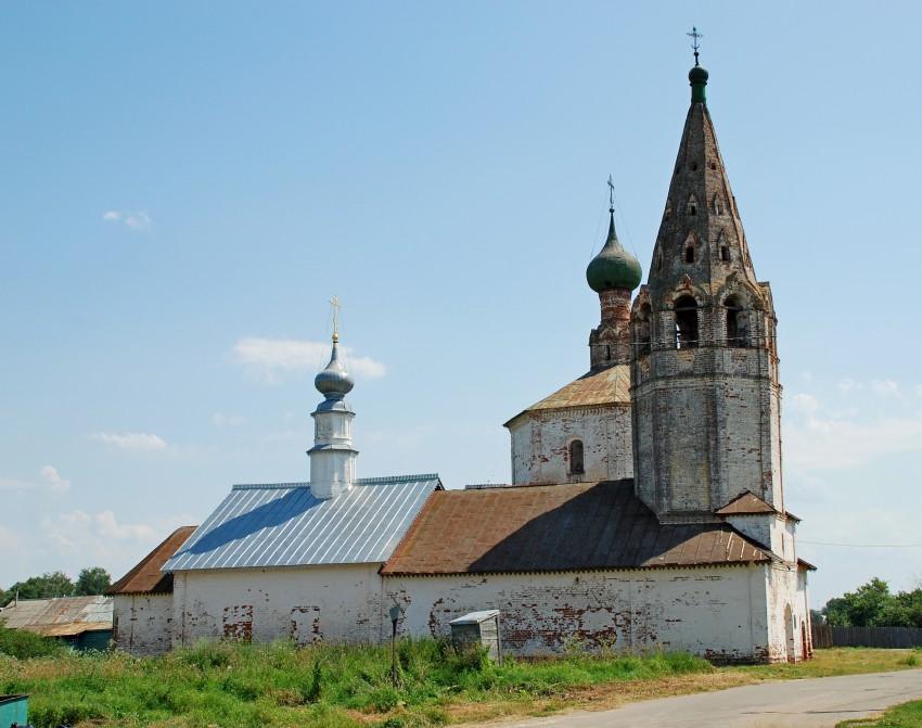 Владимирская область, Суздальский район, Суздаль. Церковь Космы и Дамиана, фотография. фасады, северный фасад.