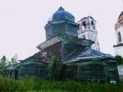 Церковь Воздвижения Креста Господня - Ухтома - Вашкинский район - Вологодская область