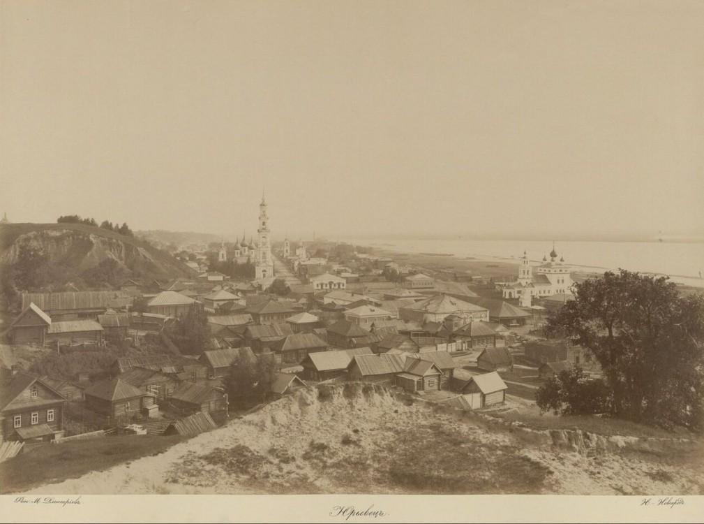 Церковь Георгия Победоносца в колокольне, Юрьевец