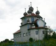 Столетовская (Лядины). Лядинский погост. Церковь Богоявления Господня