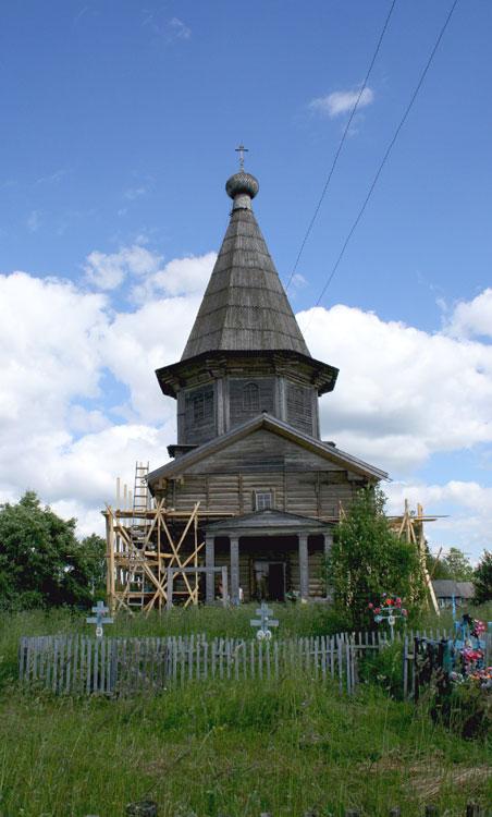 Лядинский погост. Церковь Покрова Пресвятой Богородицы (Покрово-Власьевская), Столетовская (Лядины)