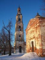 Болотново. Храмовый комплекс. Церкви Воскресения Христова и Николая Чудотворца