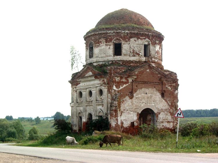 Церковь Вознесения Господня, Стрелка