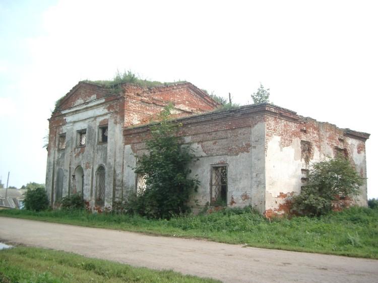 Церковь Вознесения Господня, Островское