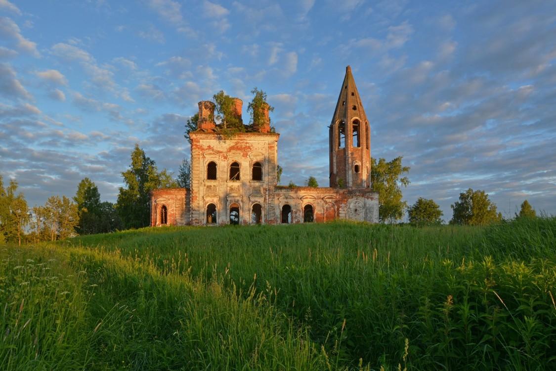 Церковь Покрова Пресвятой Богородицы, Осоево