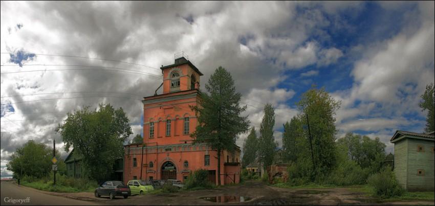 Введенский монастырь. Церковь Екатерины и Августы, Тихвин