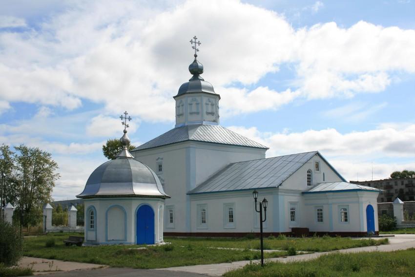Коряжемский Николаевский монастырь. Церковь Спаса Нерукотворного Образа, Коряжма